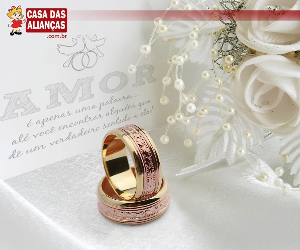 8cebf95cee6 Quer inovar com as alianças  Compre ouro vermelho!