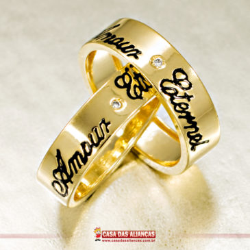 O amor é lindo, o amor é eterno!