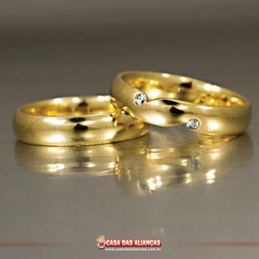 edc71f963ec Casamento. Alianças anatômicas  mais conforto para o casal