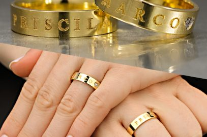 Aliança de noivado ou anel solitário?