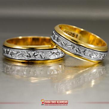 Alianças para o aniversário de casamento