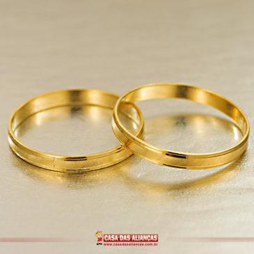 Escolha a aliança de noivado
