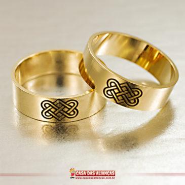 Amor eterno em sua aliança