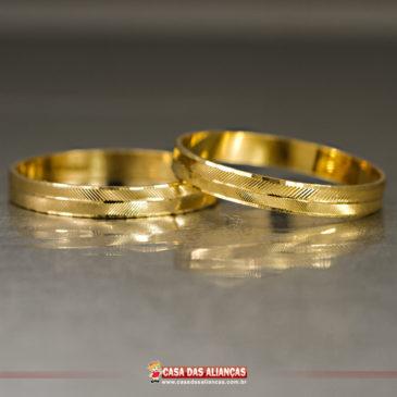 A aliança de casamento está sempre no centro das atenções!