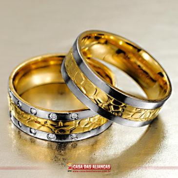 Uma aliança que traduz a chama do amor