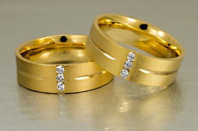 Os cuidados com as alianças em ouro