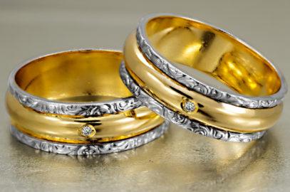 O noivado e seus anéis
