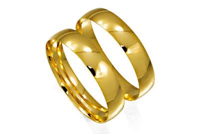 Aliança em ouro é um clássico!